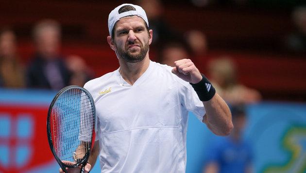 Yes! Jürgen Melzer im Australian-Open-Hauptbewerb (Bild: GEPA)