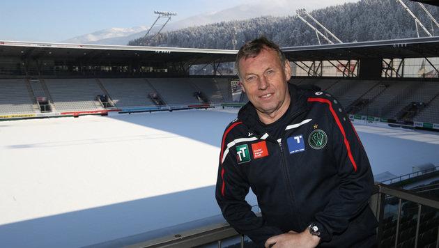 Daxbacher will mit Innsbruck bis 2018 aufsteigen! (Bild: GEPA)