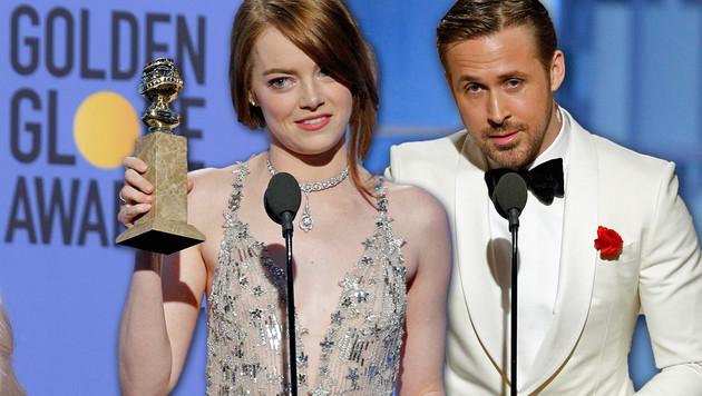 """Rekord: Sieben Golden Globes für """"La La Land"""" (Bild: AP)"""