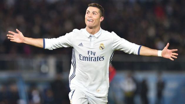 Cristiano Ronaldo hat jetzt eigenen Flughafen! (Bild: APA/AFP/KAZUHIRO NOGI)