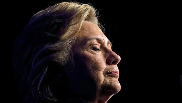 """""""Hillary wird nie wieder bei einer Wahl antreten"""" (Bild: APA/AFP/BRENDAN SMIALOWSKI)"""