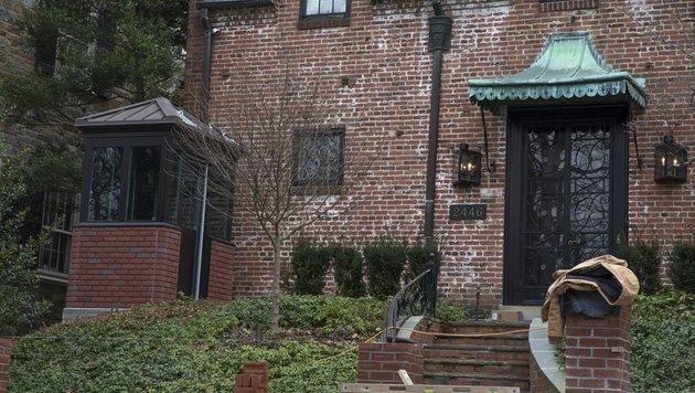 Die Obamas ziehen in dieses luxuriöse Traumhaus (Bild: EPA)