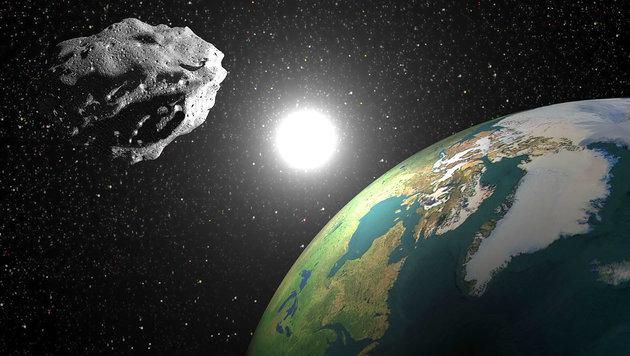 Asteroid raste relativ knapp an der Erde vorbei (Bild: thinkstockphotos.de (Symbolbild))