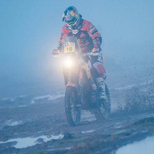 KTM-Pilot Walkner auf achter Etappe Zweiter (Bild: GEPA)