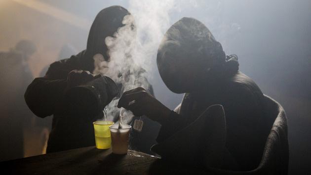 Gnadenlose Kälte in Serbien (Bild: AFP or licensors)