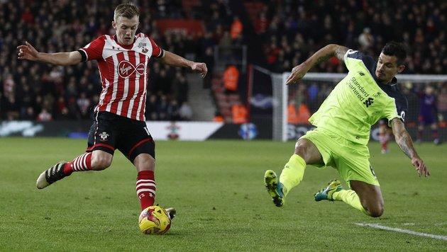 0:1! Liverpool gegen Southampton unter Zugzwang (Bild: AFP or licensors)