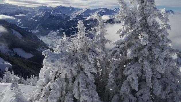 Auch in den Bergregionen des Landes herrscht Winter allerorts. (Bild: Leserreporter)