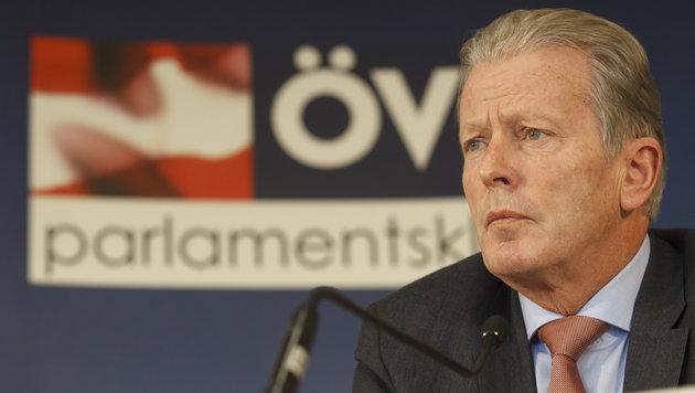 ÖVP-Chef und Vizekanzler Reinhold Mitterlehner (Bild: APA/ERWIN SCHERIAU)