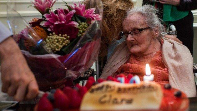 Britische Kriegsreporterin Hollingworth gestorben (Bild: AFP)