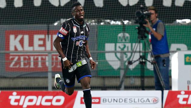 Edomwonyi wechselt von Sturm Graz zu Rizespor (Bild: GEPA)