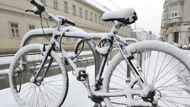 Kältewelle stoppt sogar die Einbrecherbanden (Bild: APA/HERBERT NEUBAUER)