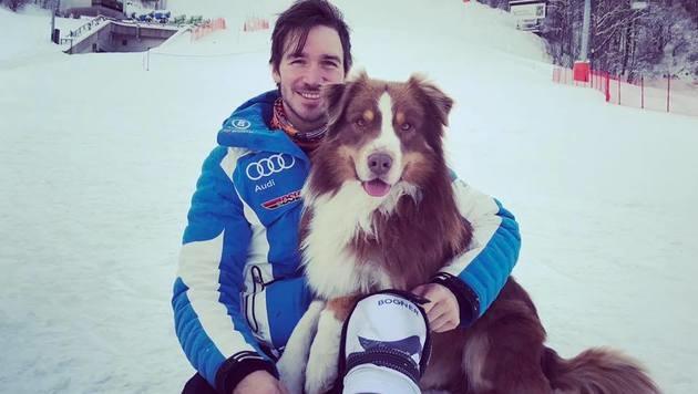 Ski-Star Felix Neureuther hat einen neuen Trainingspartner gefunden! (Bild: facebook.com/Felix Neureuther)