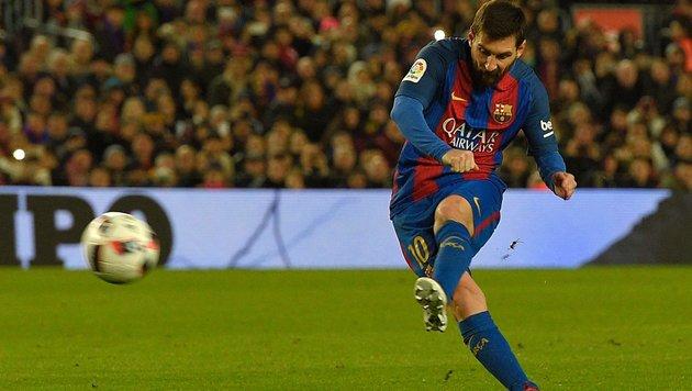 """Super-Messi """"zirkelt"""" Barcelona ins Viertelfinale! (Bild: AFP or licensors)"""