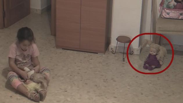 Video: Treibt hier ein Poltergeist sein Unwesen? (Bild: facebook.com/LaOtraDimension)