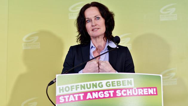 Grünen-Chefin Eva Glawischnig (Bild: APA/HERBERT NEUBAUER)