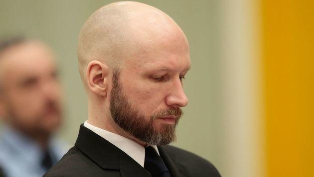 Breivik hatte unter anderem wegen seiner Isolationshaft gegen den norwegischen Staat geklagt. (Bild: AFP)