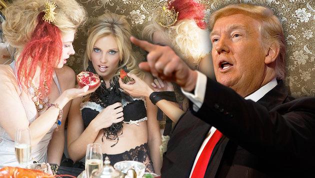Russen haben mehr als nur ein Sexvideo von Trump (Bild: AP/Evan Vucci, thinkstockphotos.de)