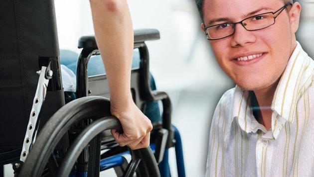 Schwerkranker (23) auf Jobsuche: 200 Absagen (Bild: facebook.com/Michael Pfeffer, thinkstockphotos.de)