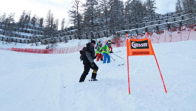 Zu viel Schnee! Training in Zauchensee abgesagt (Bild: GEPA)