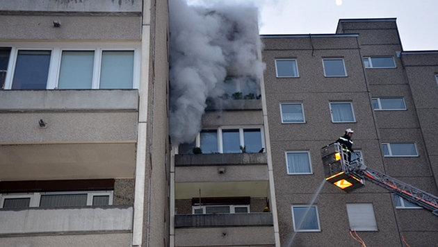 NÖ: Zwölf Bewohner aus Flammen gerettet (Bild: Thomas Lenger/monatsrevue.at)
