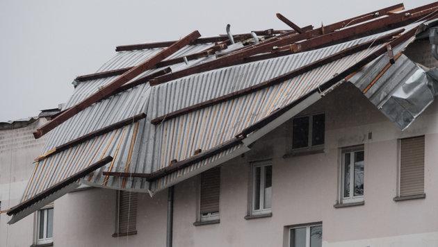 "Sturmtief ""Egon"" stürzte Europa ins Winterchaos (Bild: APA/dpa/Boris Roessler)"