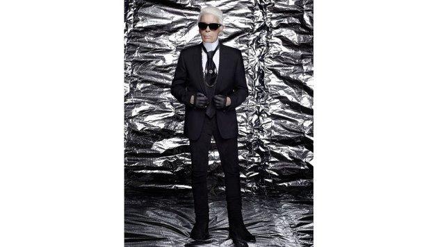 """Star-Designer Karl Lagerfeld designt Tiara (Bild: Karl Lagerfeld)"""
