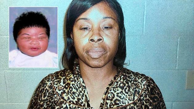 Kamiyah Mobley (kl.Bild) wurde als Baby entführt. Täterin Gloria Williams (gr. Bild) ist in Haft. (Bild: AP)