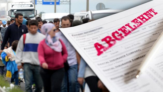Antragsteller fort: Tausende Asylverfahren unnötig (Bild: APA/Roland Schlager, thinkstockphotos.de)