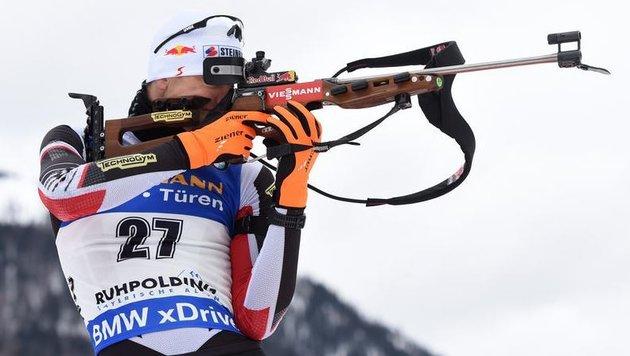 """""""Das perfekte Rennen"""" (Bild: AFP)"""