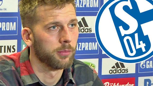 """""""Einfach riesig!"""" So erlebt Burgstaller Schalke (Bild: SID)"""