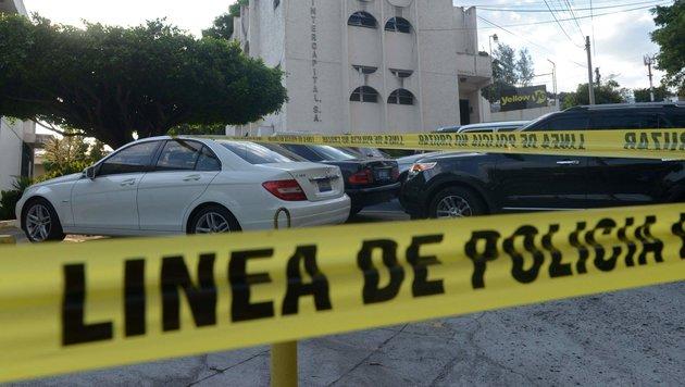 """El Salvador: Polizei feiert """"Tag mit null Morden"""" (Bild: AFP)"""