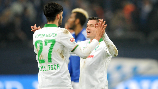 Junuzovic/Grillitsch drohen gegen BVB auszufallen (Bild: GEPA)