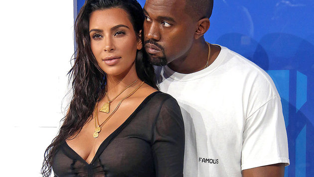 Kim Kardashian und Kanye West (Bild: Walker/face to face)