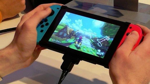 Switch probiert: So fühlt sich Nintendos Neue an (Bild: Dominik Erlinger)
