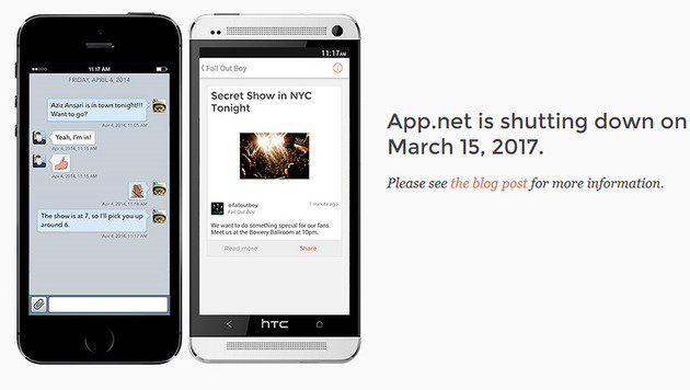 Twitter-Alternative App.net am Ende (Bild: app.net)
