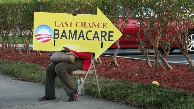 "US-Repräsentantenhaus hebt ""Obamacare"" auf (Bild: APA/AFP/RHONA WISE)"