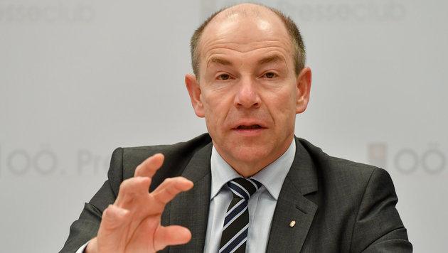 """Landesrat Max Hiegelsberger will """"nichts gewusst"""" haben. (Bild: Harald Dostal)"""