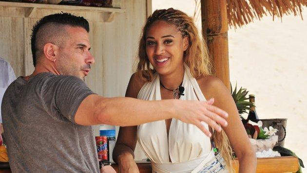 Marc Terenzi im Gespräch mit Sarah Joelle Jahnel (Bild: RTL)