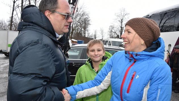 Stark: Lehrerin rettet Schüler (12) das Leben (Bild: Wolfgang Weber)