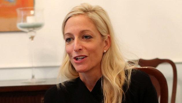 Kehren Sie gern in USA zurück, Frau Botschafterin? (Bild: Christian Bissuti)