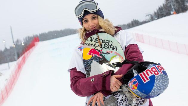 Snowboard-Queen Gasser siegt auch am Kreischberg (Bild: GEPA)