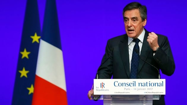Francois Fillon ist Präsidentschaftskandidat von Frankreichs Konservativen (Bild: AFP)