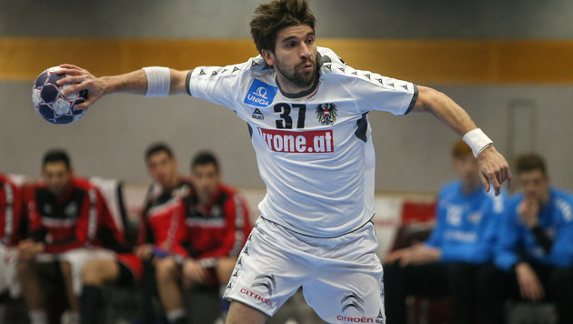 Handball-Herren besiegen die Schweiz (Bild: GEPA)
