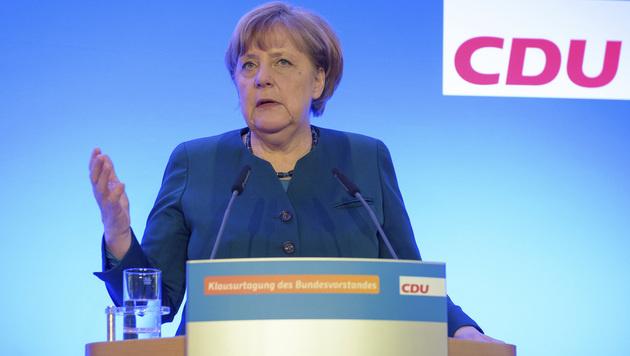 Die deutsche Kanzlerin Angela Merkel (CDU) (Bild: AP)