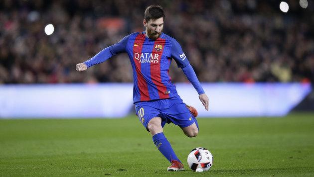Messi kritisiert - Barca-Direktor fliegt! (Bild: AP)