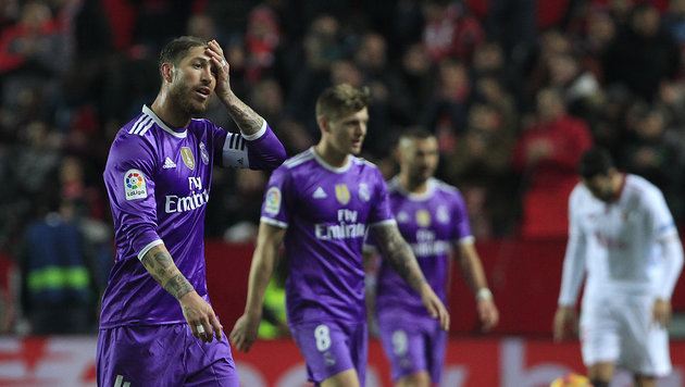 1:2-Pleite! Real Madrids stolze Serie ist zu Ende (Bild: AP)
