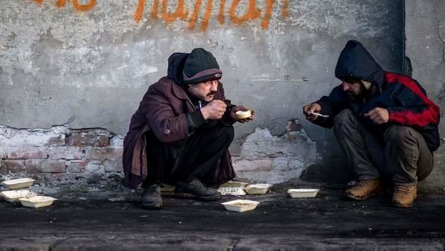 Serbien: Kritik an Zuständen in Flüchtlingslager (Bild: AFP)
