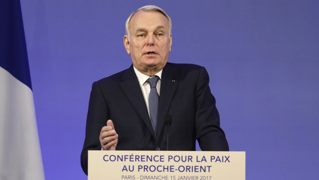 Frankreichs Außenminister Jean-Marc Ayrault (Bild: AP)