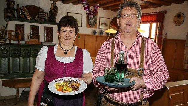 Gepriesen: Der Landgasthof von Karoline und Gottfried Spitzer in St.â005Georgen im Attergau. (Bild: Marion Hörmandinger)