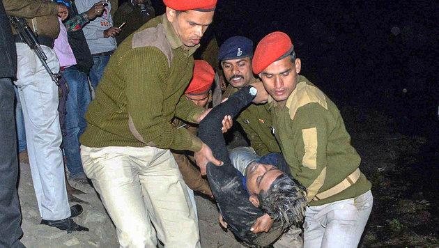 Mindestens 26 Tote bei Bootsunglück in Indien (Bild: APA/AFP)